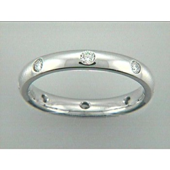 WEDDING 14K w/0.31CT DIAMONDS ETERNITY