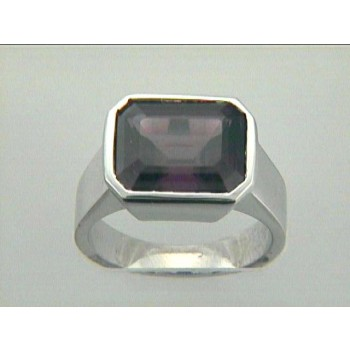 RING 18K w/RHODOLITE CLOSE-OUT