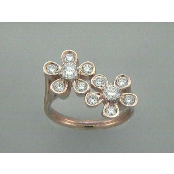 """RING 18K PINK w/1.42CT DIAMONDS """"SPECIAL ORDER"""""""