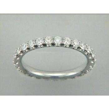 WEDDING 18K w/2.94CT DIAMOND ETERNITY