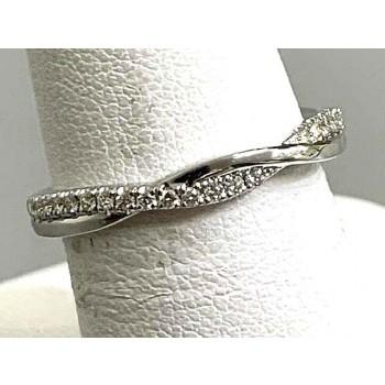 DIAMOND WEDDING 18K WG w/0.24CT DIAMONDS