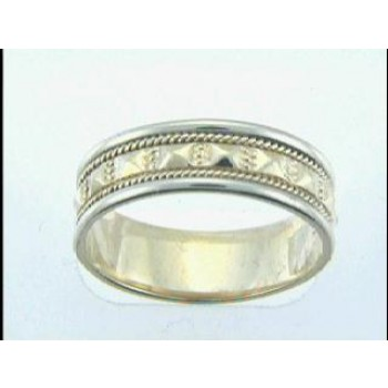 GENT'S WEDDING 14K GOLD 6MM