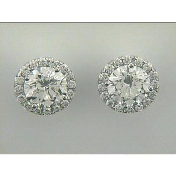EARRING 14K w/0.56CT DIAMONDS JACKET ONLY